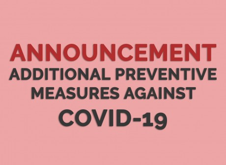 Implementing Additional Preventive Measures for COVID-19 [27 Mar 2020]